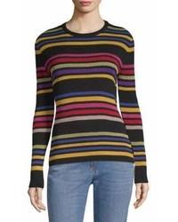 Etro Striped Crewneck Sweater