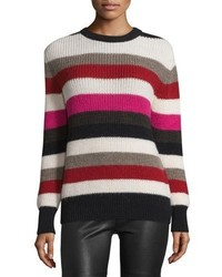 IRO Solal Striped Ribbed Sweater Multicolor