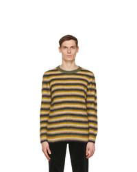 Wood Wood Yellow Striped John Sweater