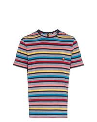 Missoni Multicoloured Striped Cotton T Shirt Unavailable