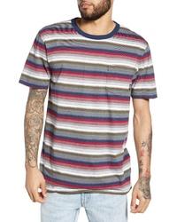 Vans Redmond Stripe Pocket T Shirt