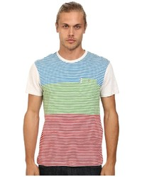 Ben Sherman Short Sleeve Multi Stripe Tee Mb11465a