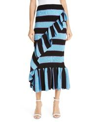 Kenzo Ribbed Stripe Skirt