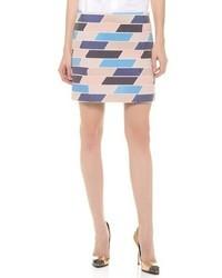 Check tweed skirt medium 26705
