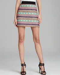 Skirt tribal tweed mini medium 26706