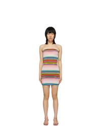 Missoni Multicolor Striped Less Dress