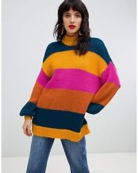 Vero Moda Bold Stripe Knitted Jumper