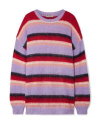 Miu Miu Oversized Striped Sweater