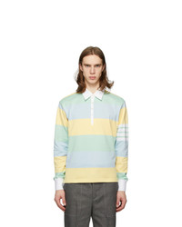 Thom Browne Multicolor Rugby Stripe Funmix 4 Bar Polo