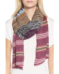 Missoni Metallic Stripe Scarf