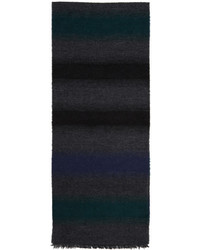 Paul Smith Ps By Multicolor Striped Mohair Scarf