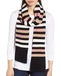 kate spade new york Wide Stripe Skinny Muffler