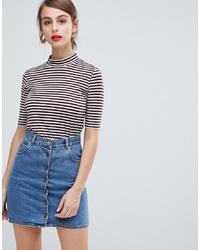Vero Moda Aware Funnel Neck T Shirt