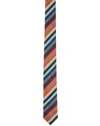 Paul Smith Multicolor Artists Stripe Tie