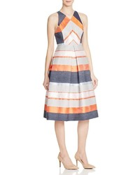Striped jacquard dress 100 medium 1252083
