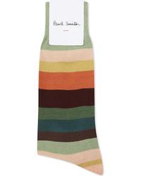 Paul Smith Artist Stripe Cotton Socks