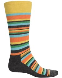 HS by Happy Socks Happy Socks Hs Variegated Stripes Socks Crew