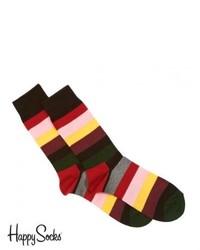Happy Socks Stripe Socks Multi