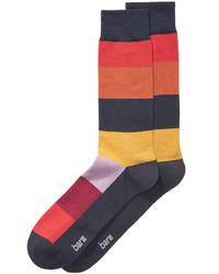 Bar III Large Stripe Socks Created For Macys