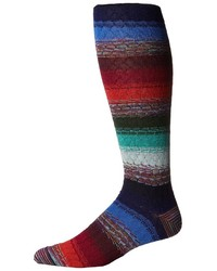 Missoni Long Multi Stripe Socks Crew Cut Socks Shoes