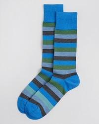 Paul Smith Melange Stripe Socks