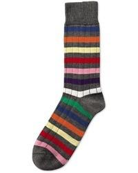Charles Tyrwhitt Multi Stripe Chunky Socks
