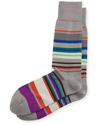 Paul Smith Multicolor Striped Socks