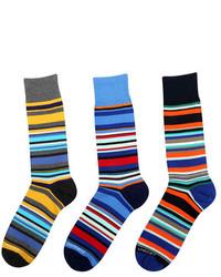 Multicolored Stripe Socks