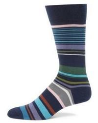 Paul Smith Striped Dress Socks