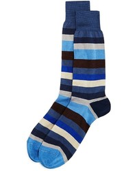 The Store At Bloomingdales Artist Stripe Socks