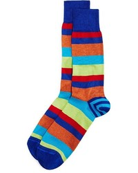 The Store At Bloomingdales Double Stripe Sock