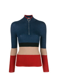 Marni Striped Ribbed Jumper