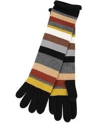 Design striped gloves medium 107887