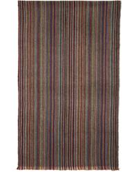 Multicolor striped herringbone scarf medium 4391743