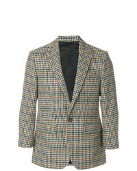 Multi colored Houndstooth Blazer