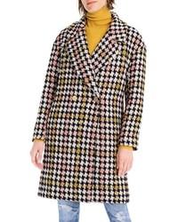 J.Crew Collection Oversize Lurex Tweed Coat