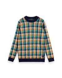 Scotch & Soda Jacquard Crewneck Sweater