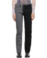 Maison Margiela Black Spliced Jeans