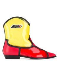 MSGM Colour Block Western Boots