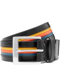 Paul Smith 35cm Striped Leather Belt