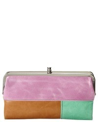 Multi colored Leather Clutch