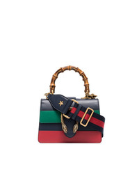 Gucci Blue Green And Red Dionysus Mini Bag