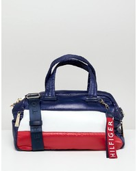 Tommy Hilfiger Flag Padded Barrel Bag