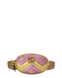 Gucci Marmont 20 Leather Belt Bag