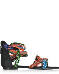 Dsquared2 Ariel Multicolor Flat Sandal