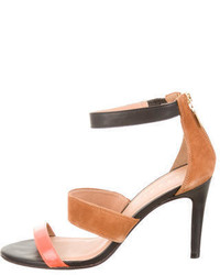 Sandro Colorblock Sandals