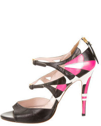 Miu Miu Colorblock Sandals