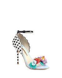 Sophia webster lilico leather flower sandals medium 521828