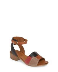 SHERIDAN MIA Tibet Colorblock Sandal