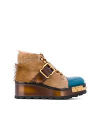 Prada D Platform Boots